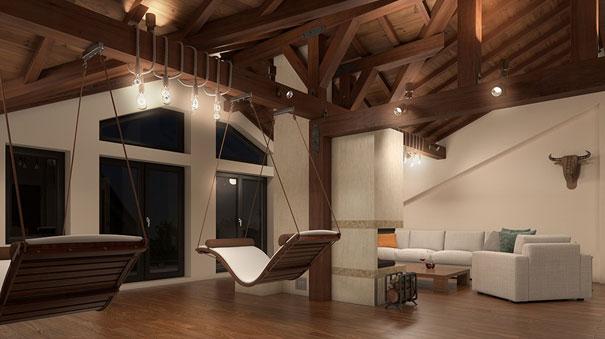 Интериорен дизайн на къщи