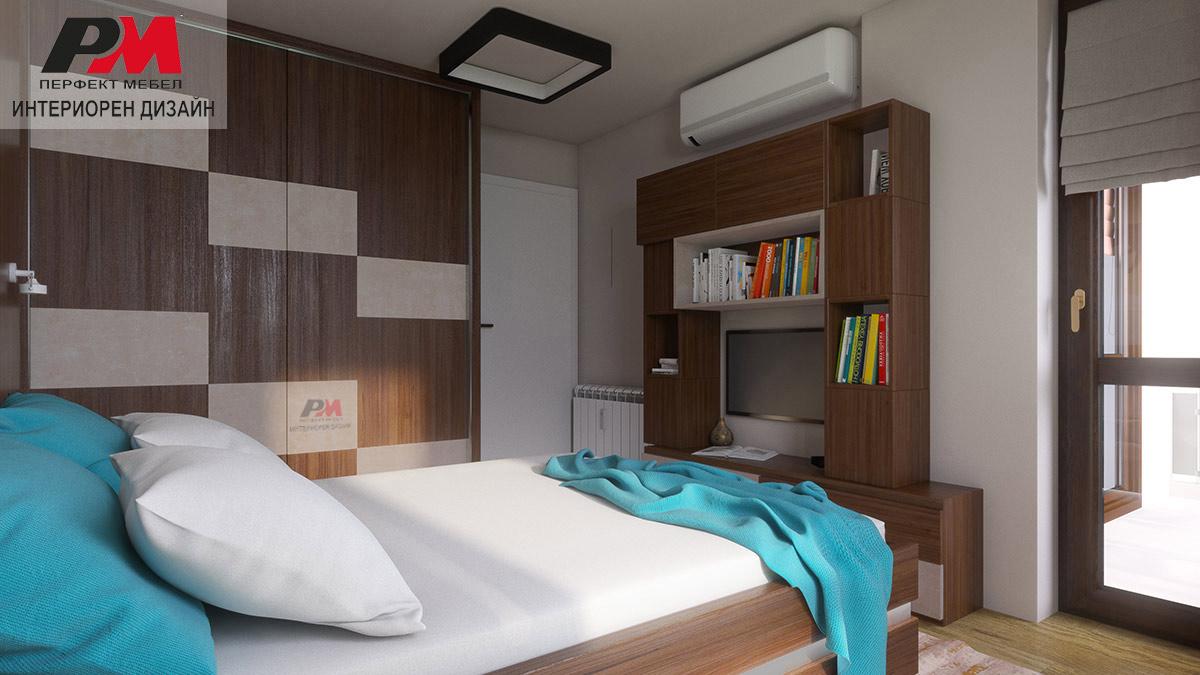 Топлина и уют в стилната спалня