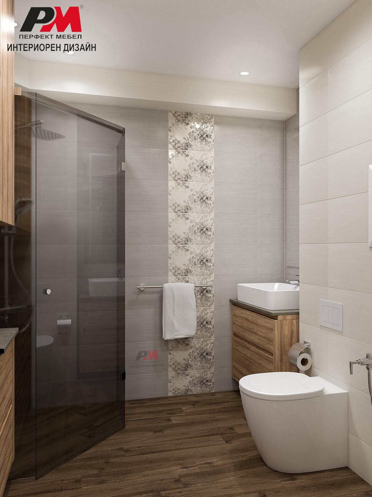 Функционалност и красова в малка градска баня