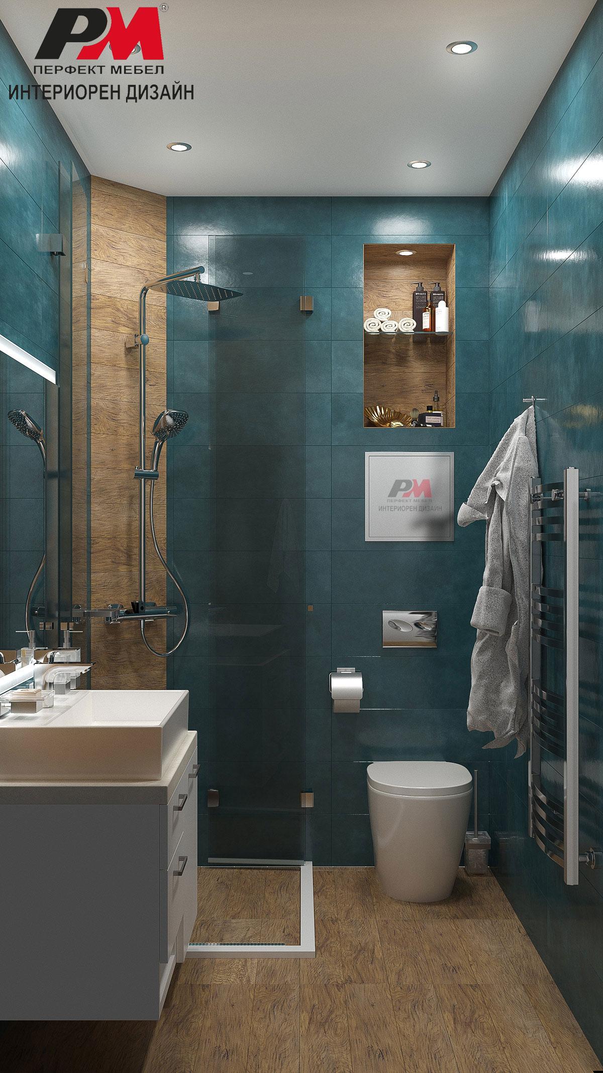 Луксозен интериорен дизайн на баня със съвременно звучене
