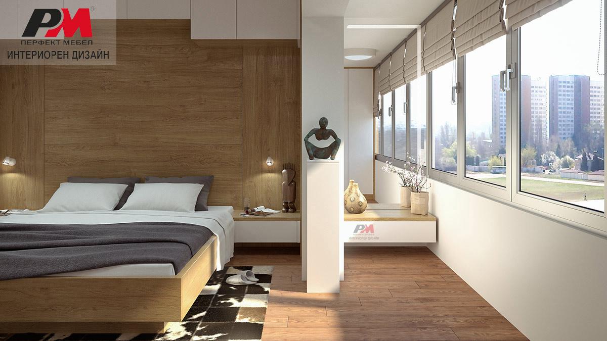 Лукс и стил в интериора на съвременната модерна градска спалня