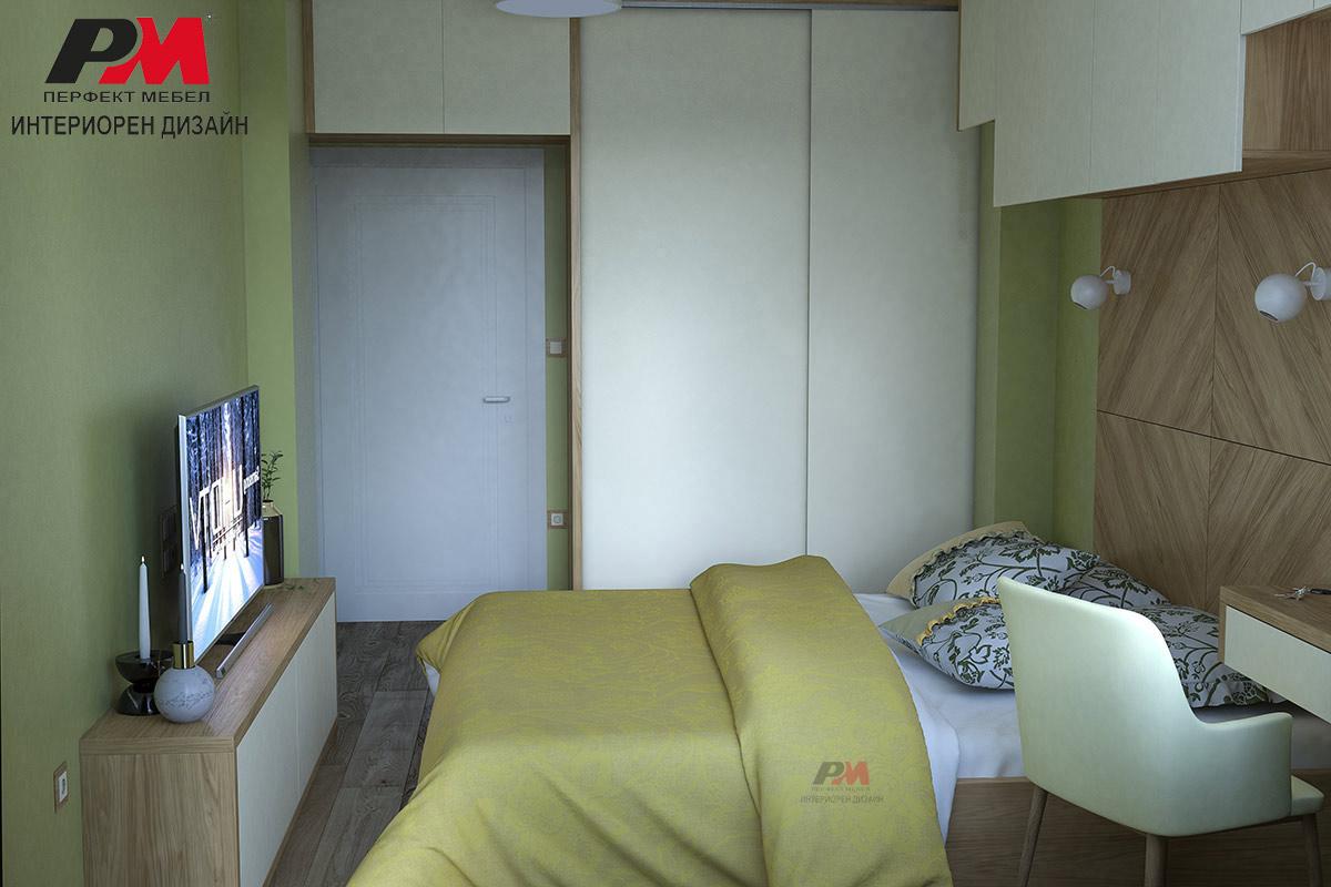 Стилна и функционална спалня в модерен стил