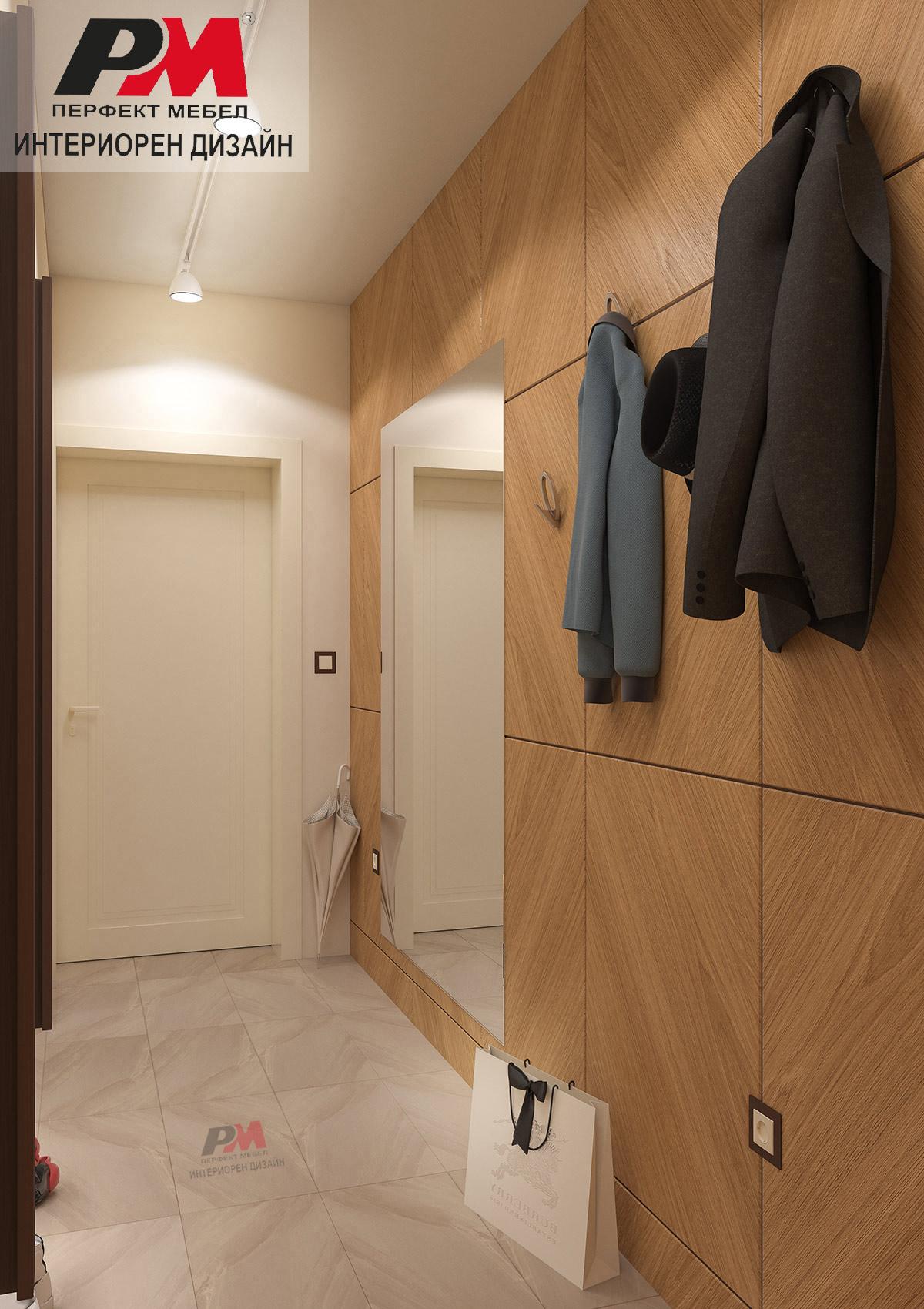 Елегантно коридорно пространство, посрещащо гости