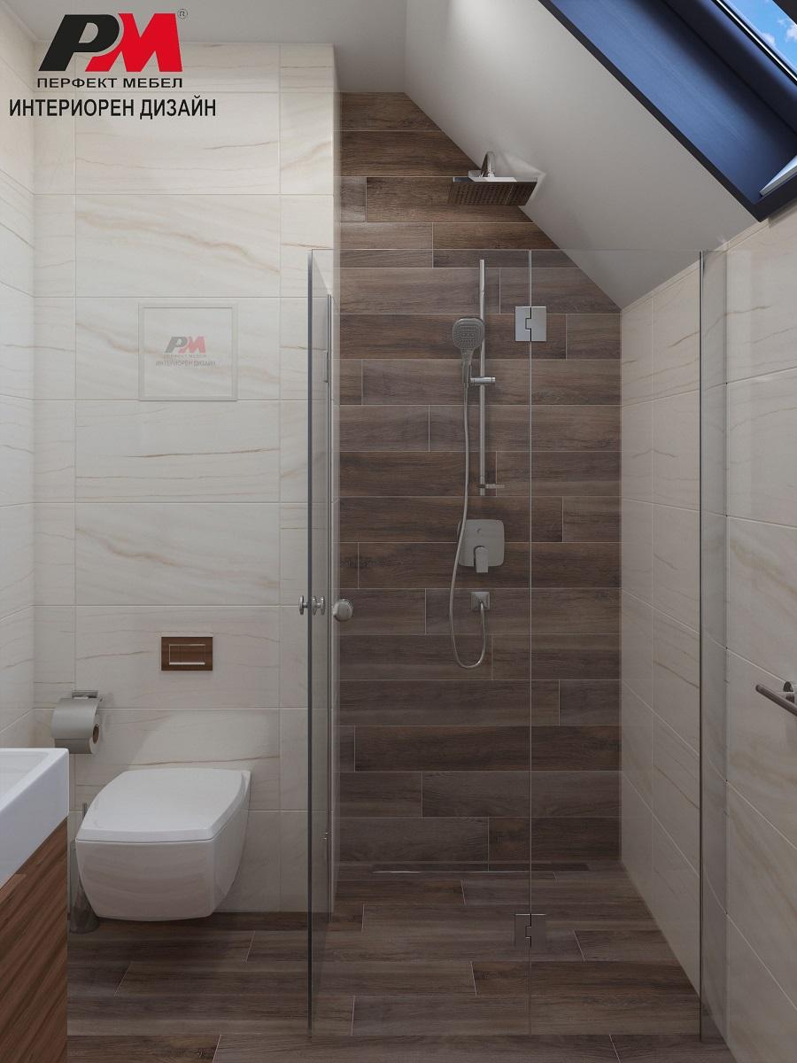 Мекота и пастелни тонове в интерира на съвременната баня